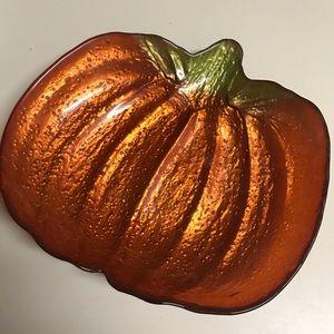 Other - Decorative Pumpkin  Dish Good Condition
